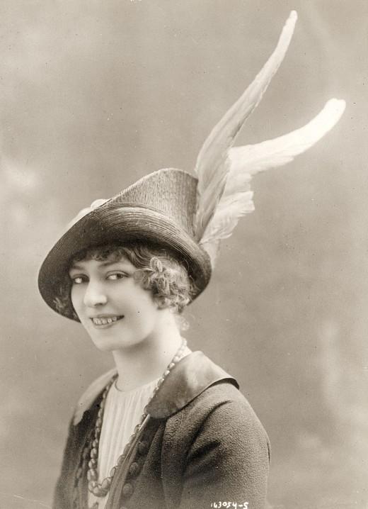 مد كلاه خانمها در 1910 مد