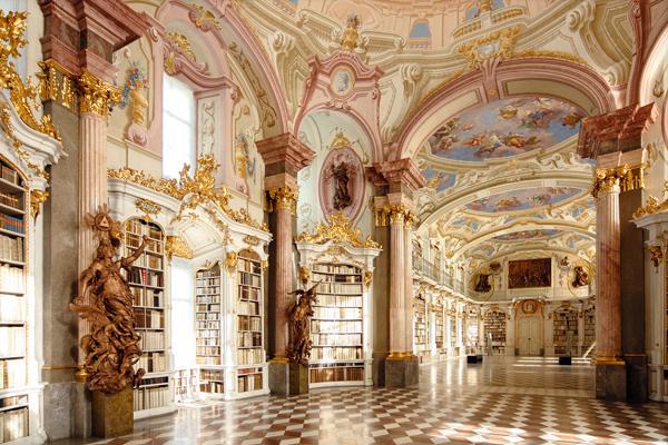 BIB 02 عکس های بسیار زیبا از زیبا ترین کتابخانه های اروپا