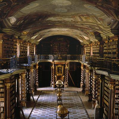 BIB 06 عکس های بسیار زیبا از زیبا ترین کتابخانه های اروپا