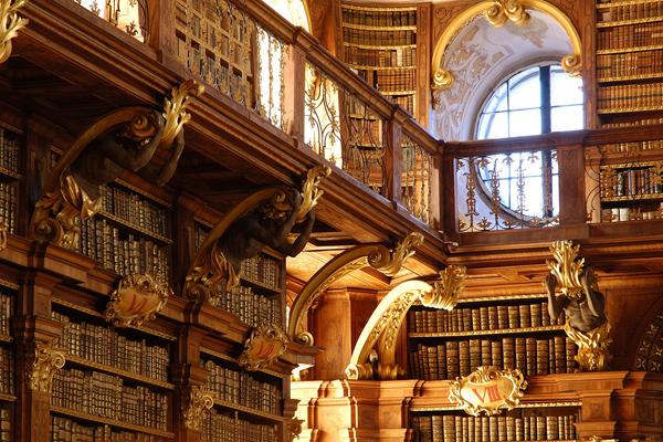 عکس های بسیار زیبا از زیبا ترین کتابخانه های اروپا كتابخانه اروپا