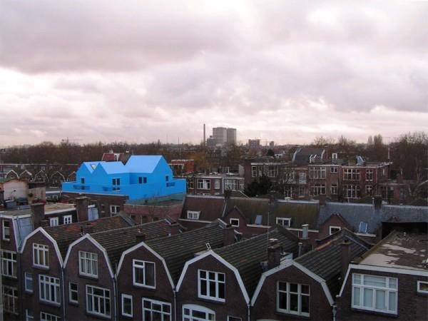 12 ساختمانی که بر بالای ساختمان دیگر بنا شده اند ساختمان پشت بام