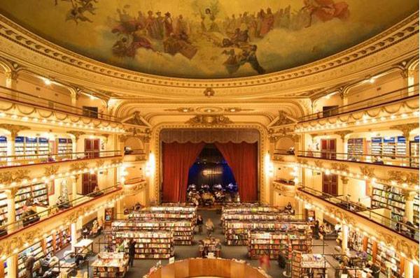 bafabbookstorenatgeo 20 كتاب فروشي زيباي دنيا