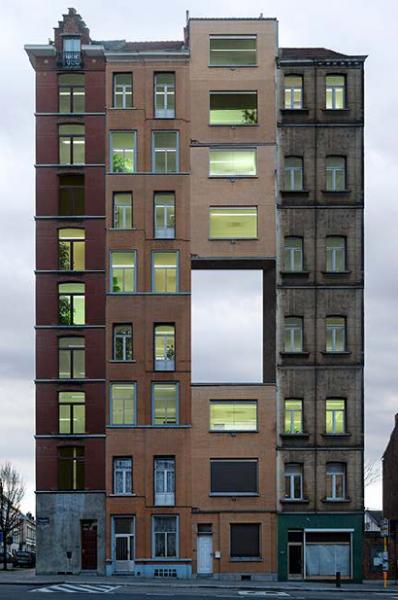 معماري مفهومي عجيب ساختمان