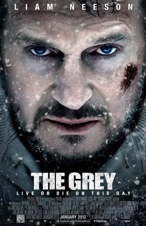 فیلم The Grey (خاکستری) خاکستری