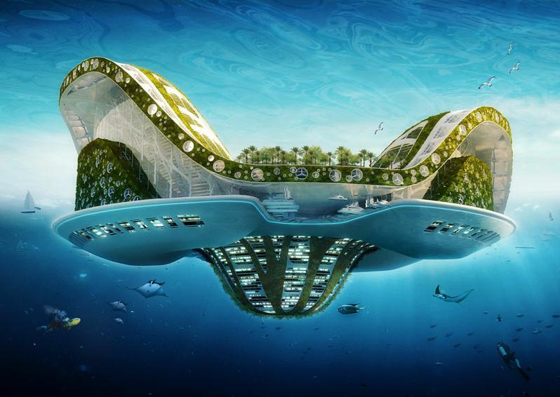 ینسنت کالبوت و تجربه هایی از معماری بیونیک