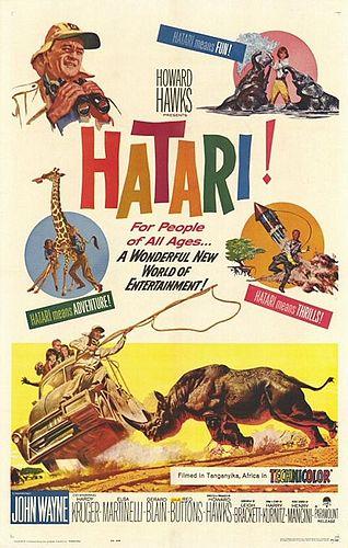 فیلم هاتاری فیلم شکار آفریقا