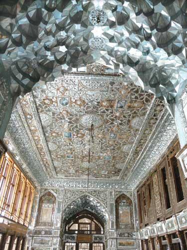 تالار اصلی خانه امام جمعه- عکس: نگار منصوری