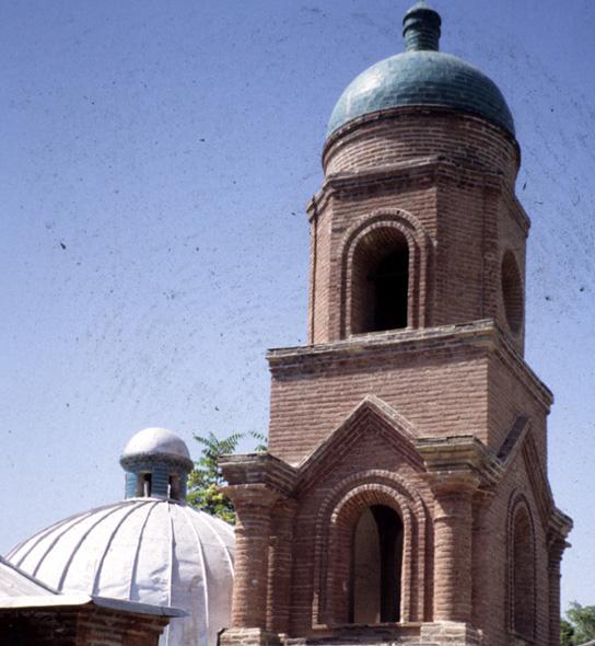 کلیسای کانتور قزوین، یکی از کوچکترین کلیساهای جهان