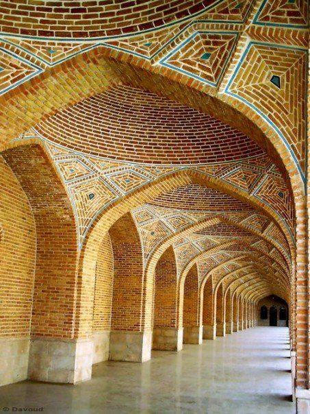 kabud mosque in tabriz , Iran