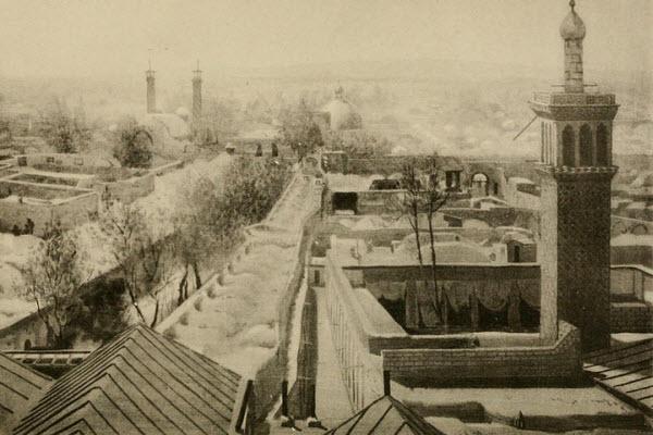 عکس: بازار تهران سال 1891 بازار تهران