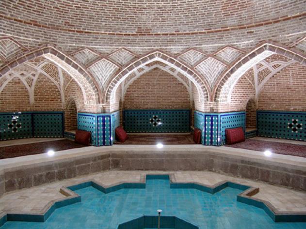 دانلود رایگان فایل معماری اسلامی مربوط به گرمابه - حمام معماری اسلامی حمام