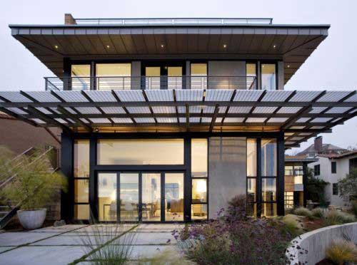 eco1 مقاله ای کامل در مورد خانه های زیست سازگار