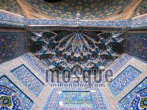 مقرنس محراب مسجد جامع یزد