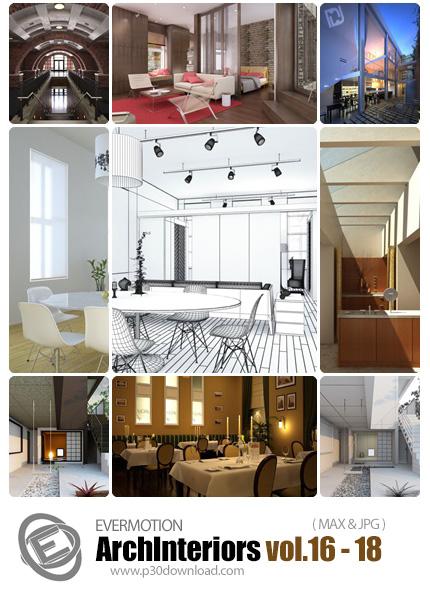 دانلود ArchInteriors HD Vol 16-18 -  مدل های آماده سه بعدی طراحی داخلی - شماره 18-16