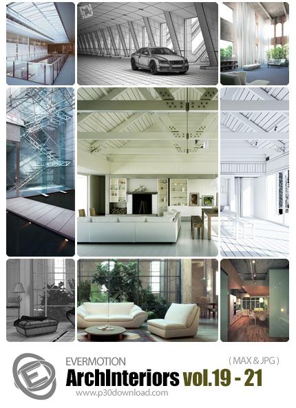 دانلود ArchInteriors HD Vol 19-21 -  مدل های آماده سه بعدی طراحی داخلی - شماره 21-19