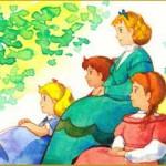 کارتون زنان کوچک کارتون