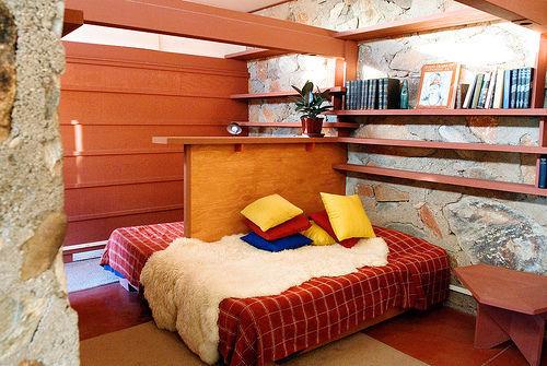 Frank Lloyd Wright's Bed(s), Taliesin West, Scottsdale, Arizona