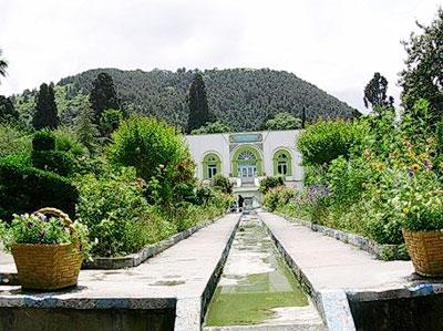 Iranian gardens - bagh-e Ashraf Belad