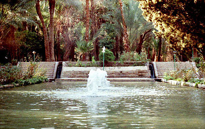Iranian gardens - bagh-e Golshah Tabas