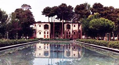 Iranian gardens - bagh-e Hasht behesht