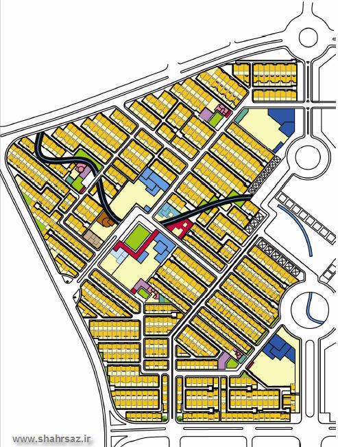 آماده سازی محلهای از منطقه 22 تهران با هدف   توسعه پایدار شهری