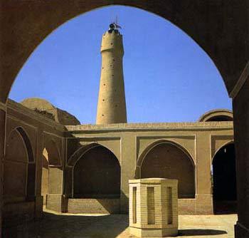 مناره مسجد جمعه فهرج