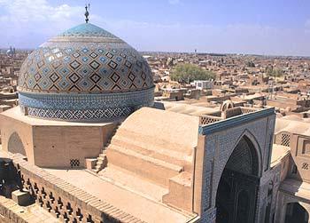 گنبد و ایوان مسجد جامع کبیر یزد