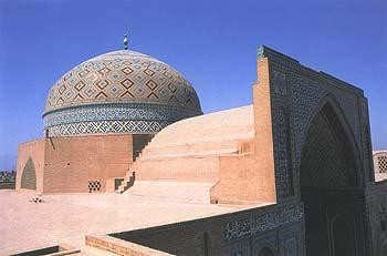 گنبد و ایوان مسجد جمعه یزد