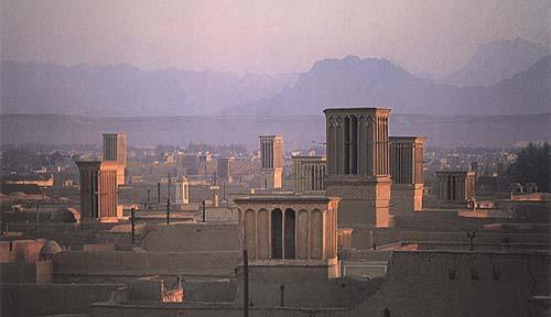 یزد شهر بادگیر ها