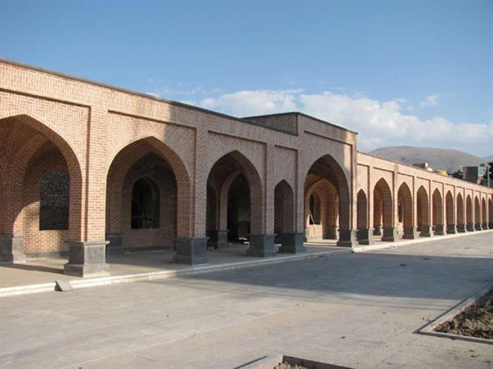 رواقهای بقعه شیخ حیدر