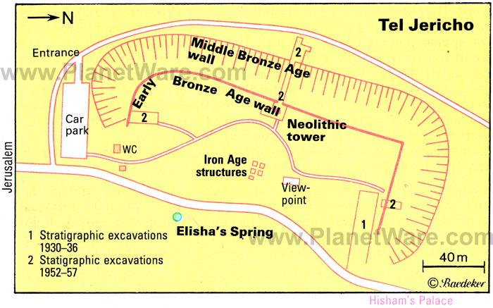 tel-jericho-map